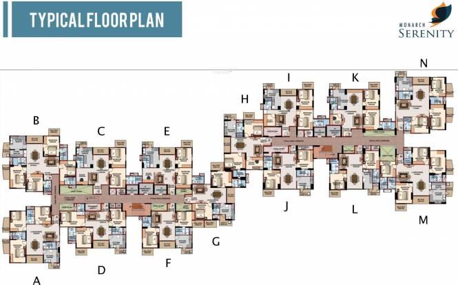 Monarch Serenity Cluster Plan