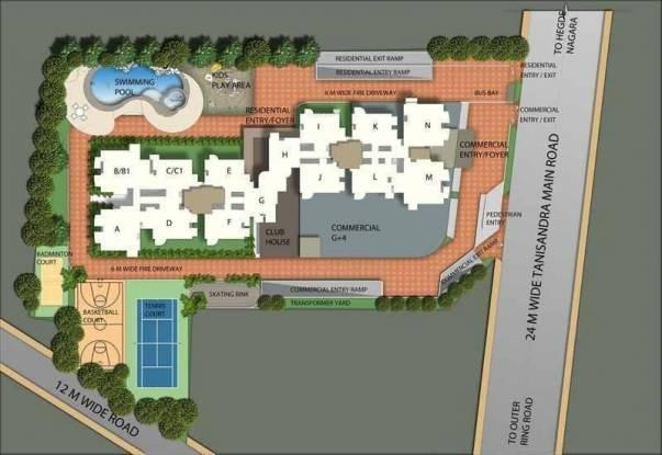 Monarch Serenity Site Plan
