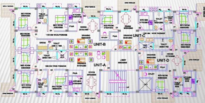 Creative Creative Residency Cluster Plan