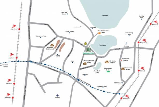 L&T Emerald Isle Location Plan