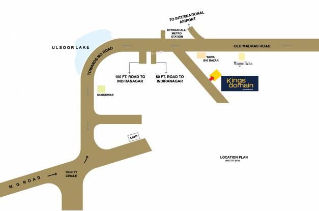 Salarpuria Sattva Kings Domain Location Plan