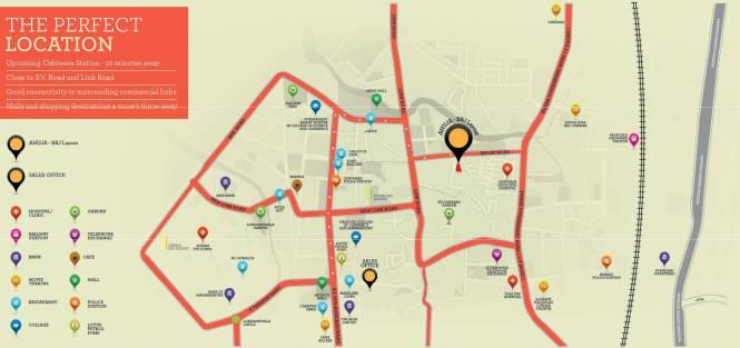 Ahuja Lamor Location Plan