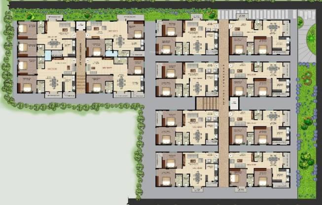 Aashrayaa Aashrayaa Serenity Cluster Plan