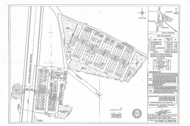 Jupiter Commanders 7th Avenue Layout Plan