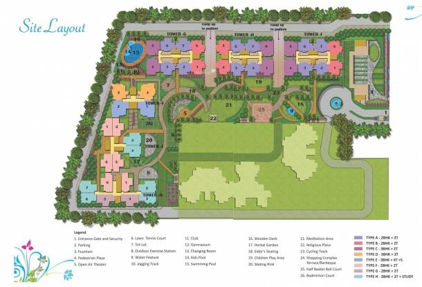 Future Future Estate Site Plan
