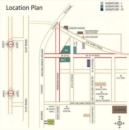 Chaubey Signature 1 Location Plan