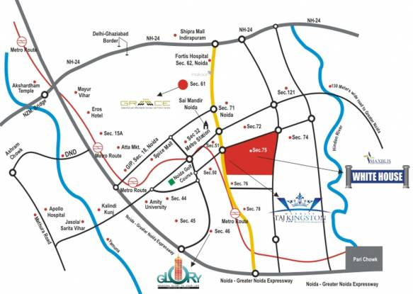 Maxblis Grand Kingston Location Plan