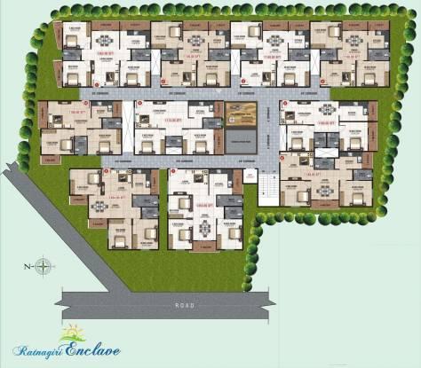 Divya SLV Ratnagiri Enclave Cluster Plan