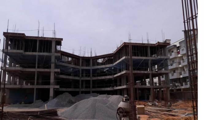 Sowparnika Sanvi Construction Status
