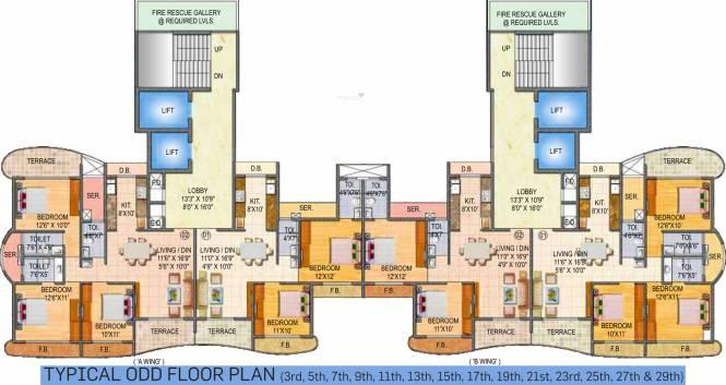 Paradise Sai Miracle Cluster Plan