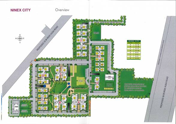 Ninex City Master Plan