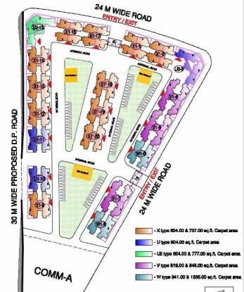 Rustomjee Avenue M Master Plan