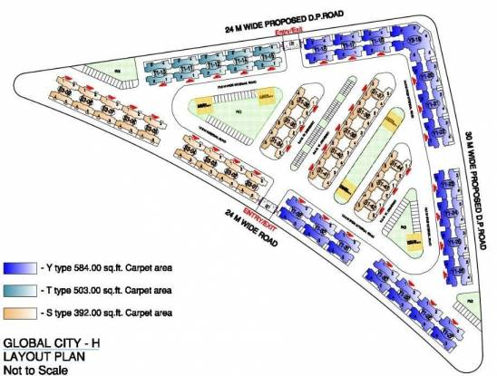 Rustomjee Avenue H Master Plan
