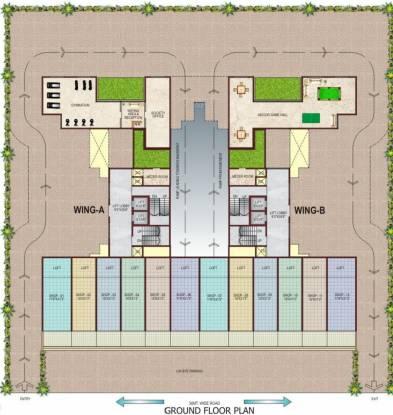 Lakhani Exotica Cluster Plan