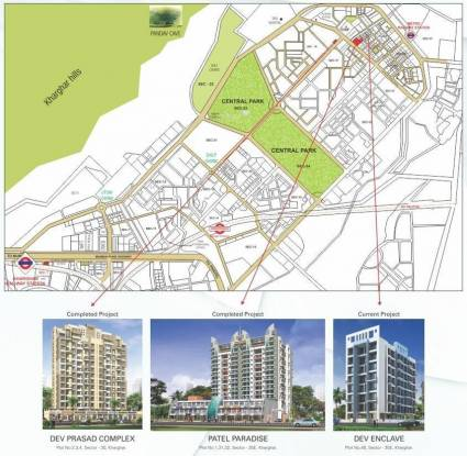 Devkrupa Dev Enclave Location Plan