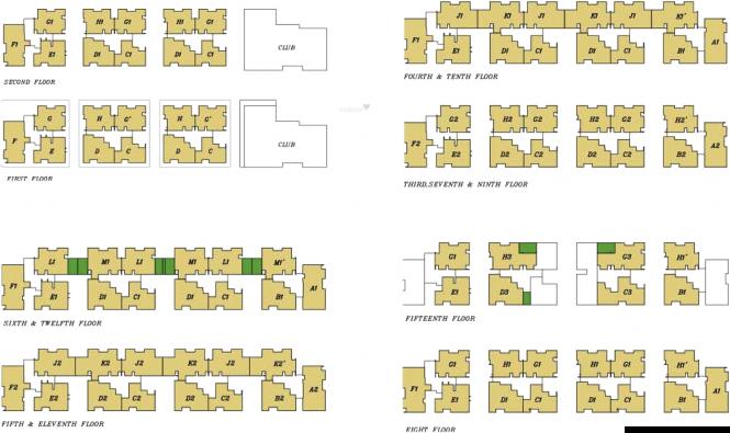 Unishire Terraza Cluster Plan