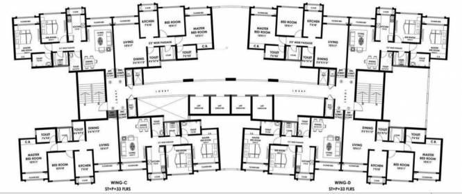 Rustomjee Urbania Acura Cluster Plan