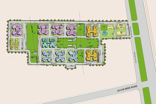 NBCC Heights Site Plan