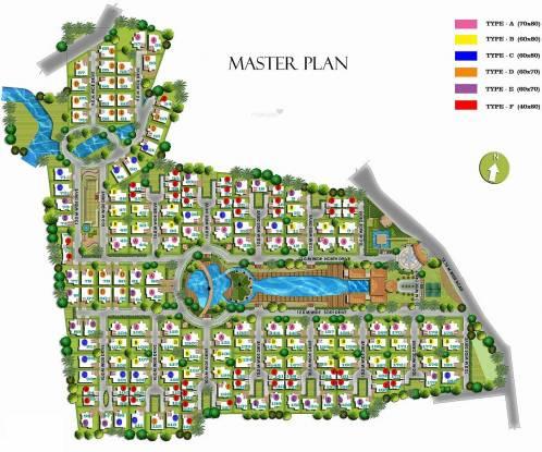 Prestige Oasis Master Plan