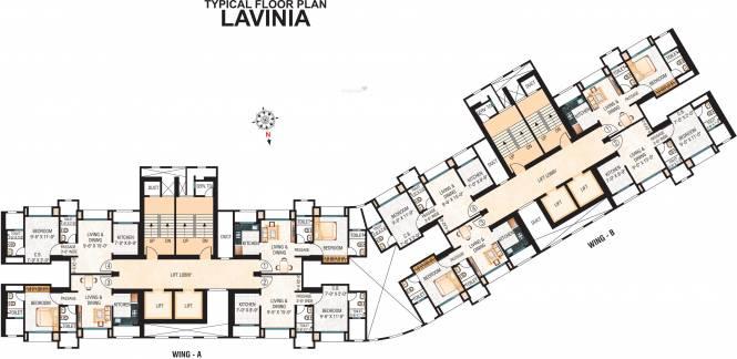 Hiranandani Lavinia Cluster Plan