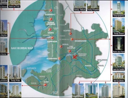 Tricity Rekhi Sai Flora Location Plan