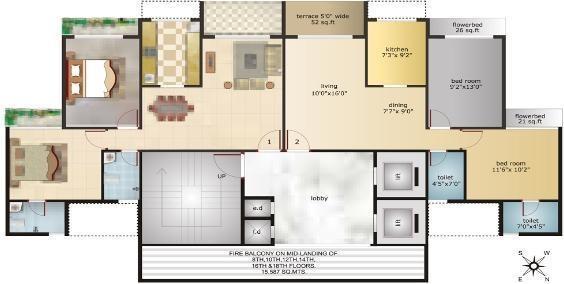 Shelton Shelton Vista Cluster Plan