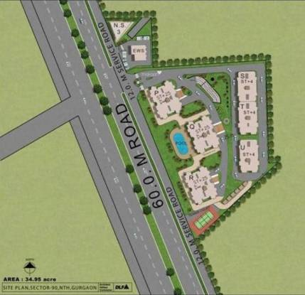 DLF Select Homes Layout Plan
