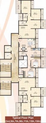 Home Prathamesh Home Cluster Plan
