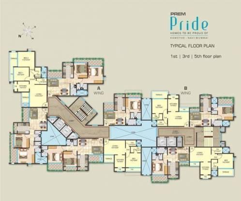 Prem Pride Cluster Plan