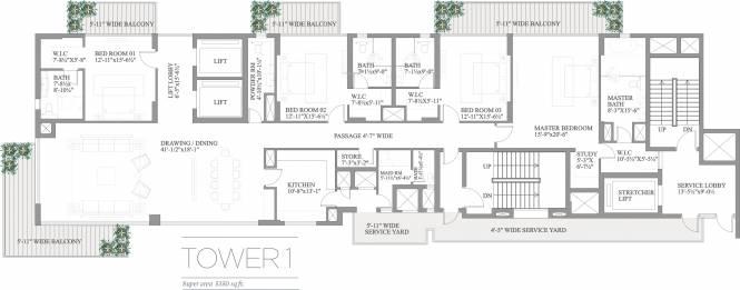 Paras Quartier Cluster Plan