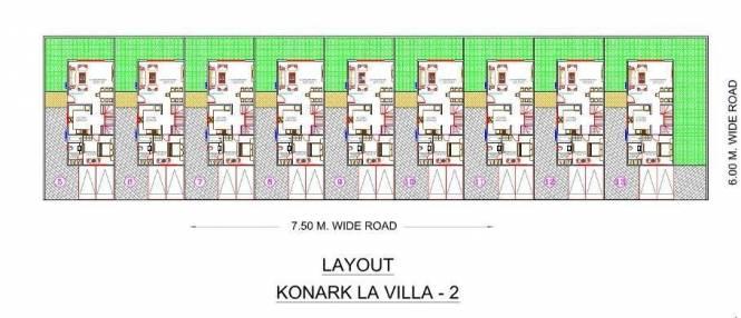 Karia Konark Avenue 9 Layout Plan