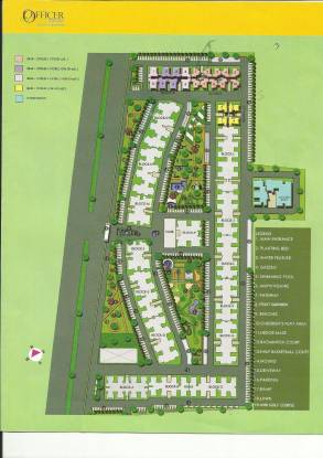 Proview Officer City Site Plan