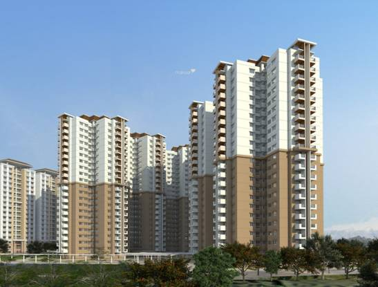 Mantri WebCity Elevation
