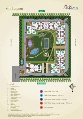 JM Aroma Layout Plan