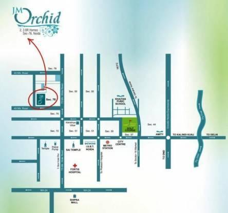 JM Orchid Location Plan
