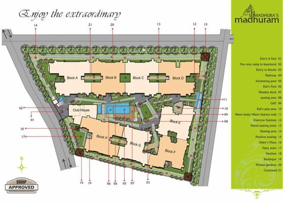 Sumadhura Madhuram Site Plan