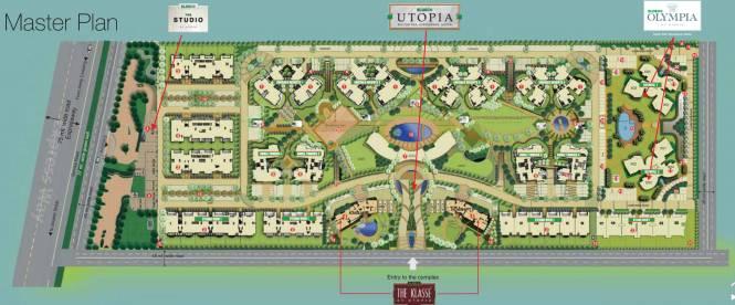 Eldeco Olympia Master Plan