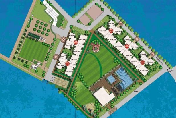 Unitech The Palms Site Plan