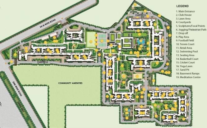 Ireo The Corridors Layout Plan