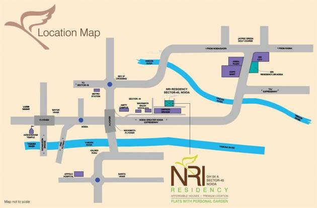 SDS NRI Residency Location Plan