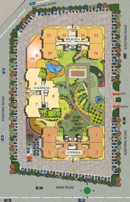 Mahagun Maple Layout Plan