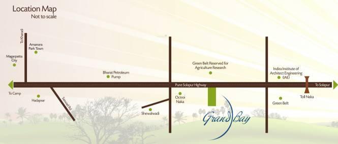 Gemini Grand Bay Location Plan