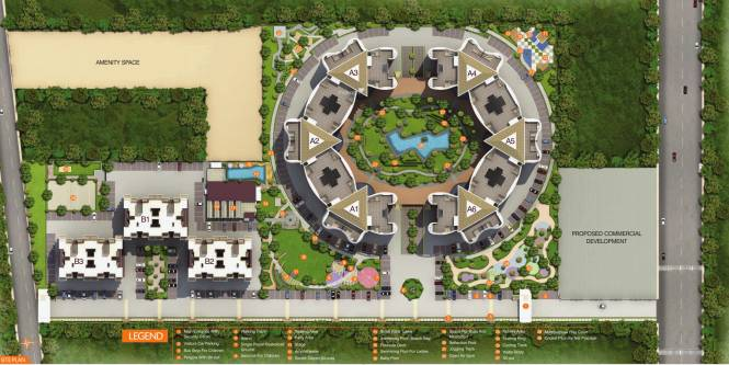 Gemini Grand Bay Site Plan