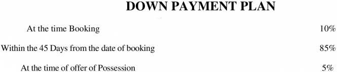 Gaursons Gaur Cascades Payment Plan