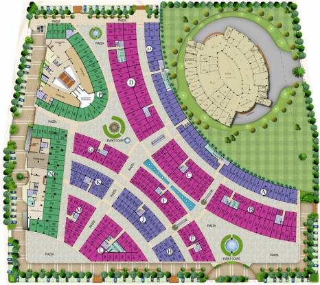 Victory Habitat Centre Layout Plan