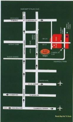 Mittal Cosmos Executive Location Plan