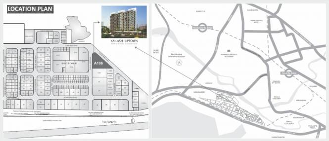 Space Kailash Uptown Location Plan