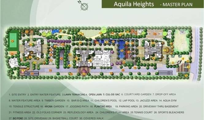 TATA Aquila Heights Master Plan