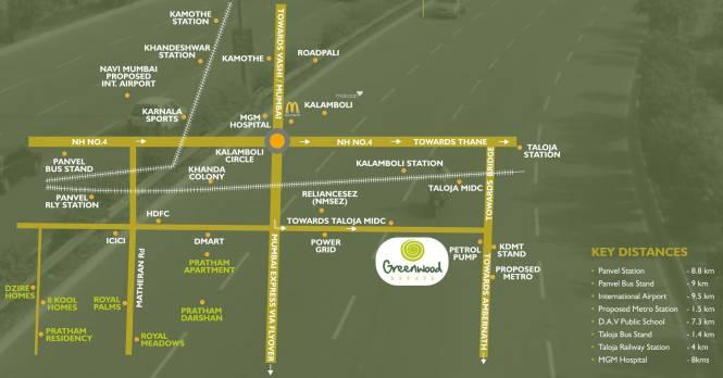 Qualcon Greenwood Estate Location Plan
