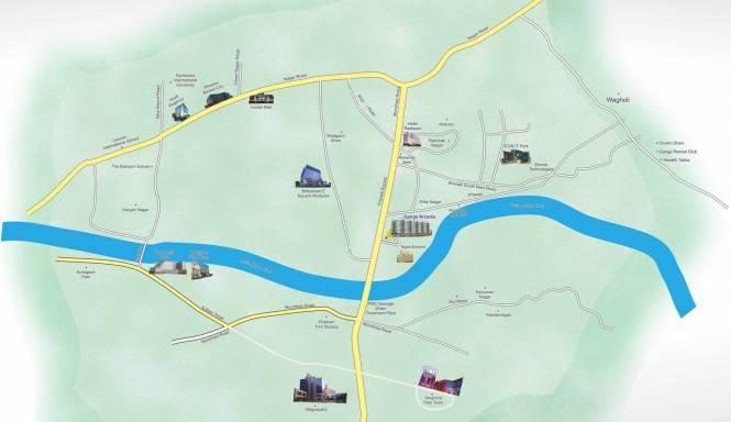 Goel Arcadia Location Plan